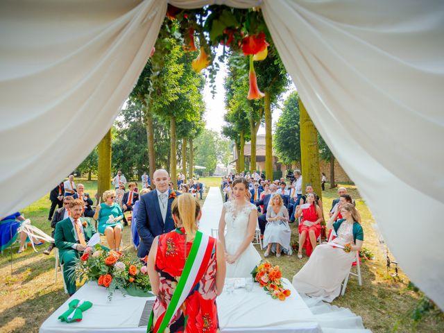 Il matrimonio di Alessandro e Erica a Robecco sul Naviglio, Milano 59