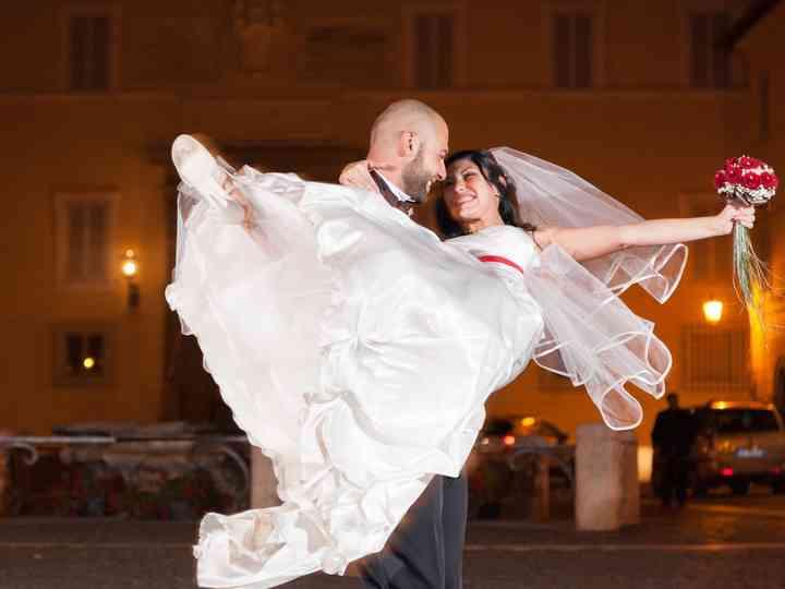 le nozze di Antonella e Simone