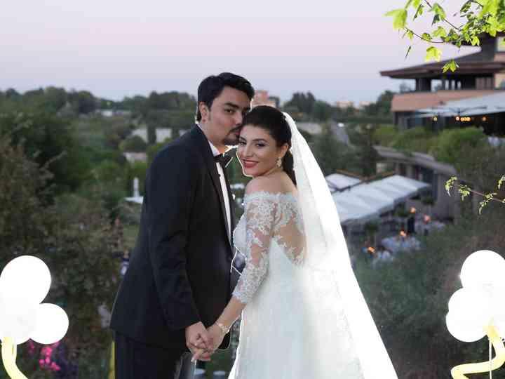 le nozze di Dina e Esam