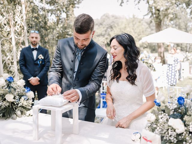 Le nozze di Marinella e Luca