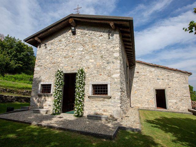 Il matrimonio di Lorenzo e Francesca a Albavilla, Como 6