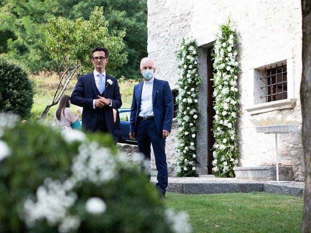 Il matrimonio di Lorenzo e Francesca a Albavilla, Como 7