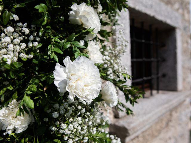 Il matrimonio di Lorenzo e Francesca a Albavilla, Como 10