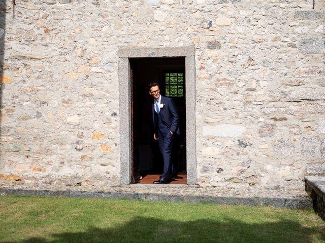 Il matrimonio di Lorenzo e Francesca a Albavilla, Como 11