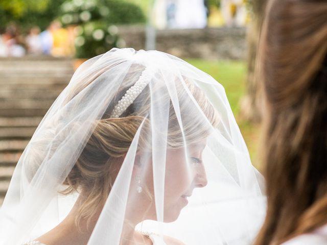 Il matrimonio di Lorenzo e Francesca a Albavilla, Como 17