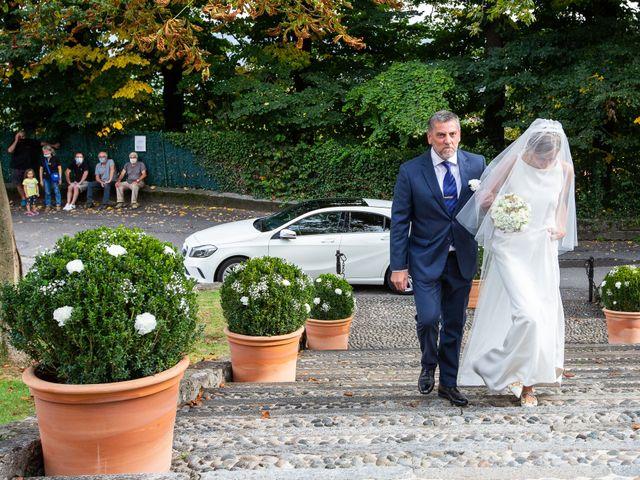 Il matrimonio di Lorenzo e Francesca a Albavilla, Como 18