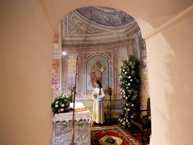 Il matrimonio di Lorenzo e Francesca a Albavilla, Como 25