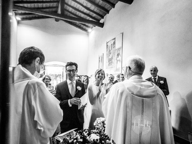 Il matrimonio di Lorenzo e Francesca a Albavilla, Como 27