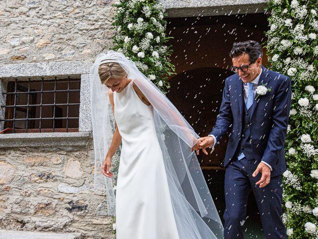 Il matrimonio di Lorenzo e Francesca a Albavilla, Como 33