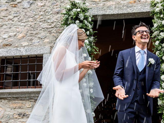 Il matrimonio di Lorenzo e Francesca a Albavilla, Como 35