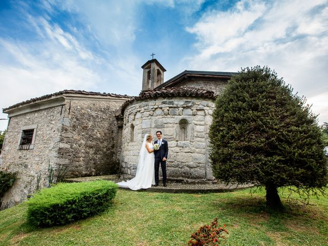 Il matrimonio di Lorenzo e Francesca a Albavilla, Como 44