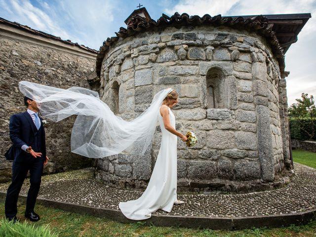 Il matrimonio di Lorenzo e Francesca a Albavilla, Como 45