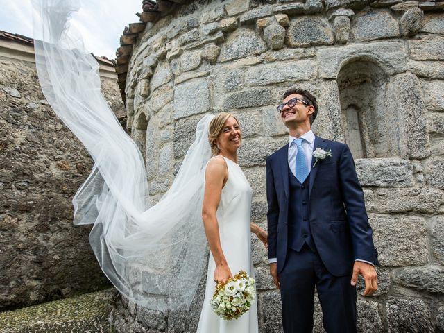 Il matrimonio di Lorenzo e Francesca a Albavilla, Como 47