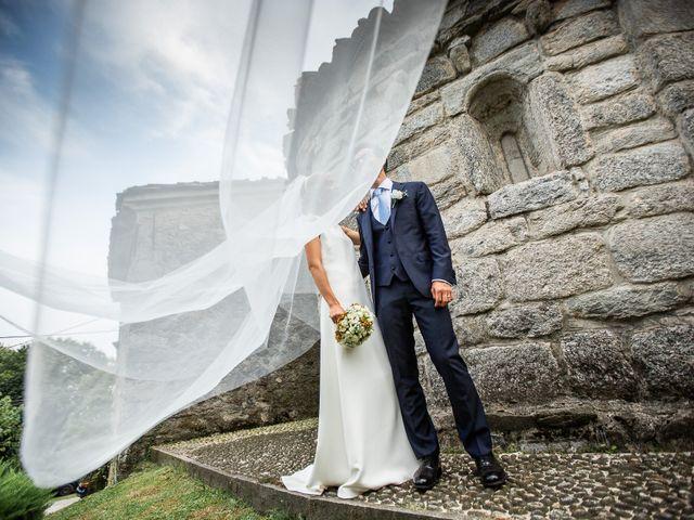 Il matrimonio di Lorenzo e Francesca a Albavilla, Como 46