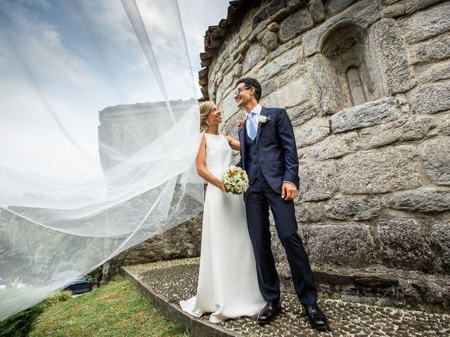 Il matrimonio di Lorenzo e Francesca a Albavilla, Como 48