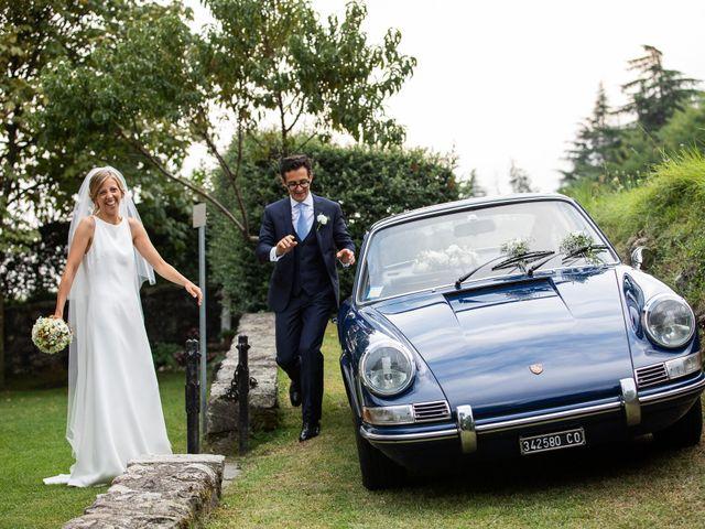 Il matrimonio di Lorenzo e Francesca a Albavilla, Como 50