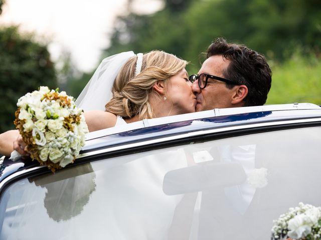 Il matrimonio di Lorenzo e Francesca a Albavilla, Como 52