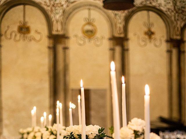 Il matrimonio di Lorenzo e Francesca a Albavilla, Como 61