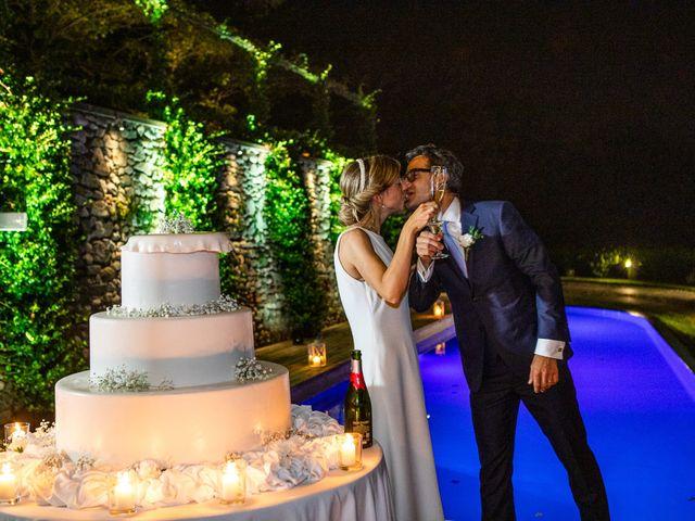 Il matrimonio di Lorenzo e Francesca a Albavilla, Como 78