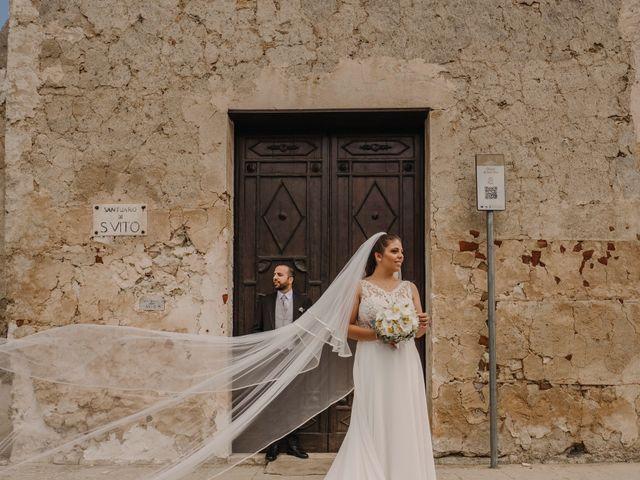 Il matrimonio di Vito e Maddalena a Ciminna, Palermo 1