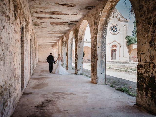 Il matrimonio di Cosimo e Luigina a San Pancrazio Salentino, Brindisi 22
