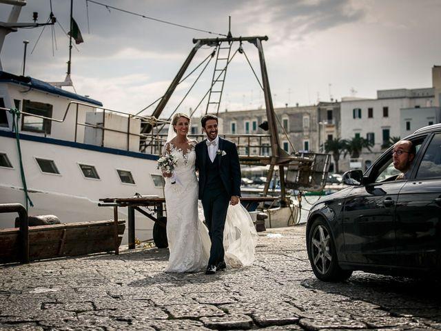 Il matrimonio di Paolo e Malwina a Trani, Bari 45