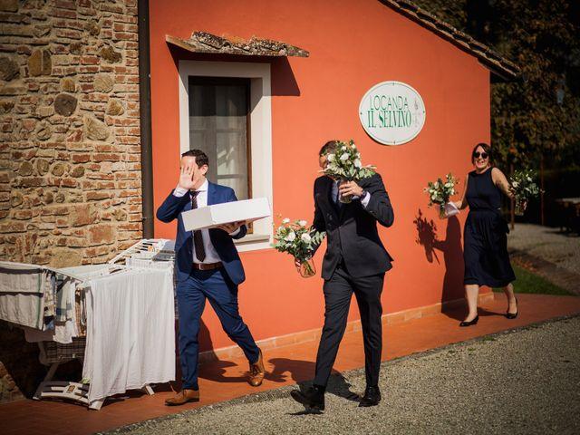 Il matrimonio di Julian e Sabrina a Lajatico, Pisa 7