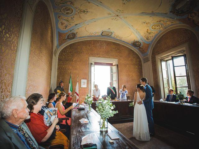 Il matrimonio di Julian e Sabrina a Lajatico, Pisa 8