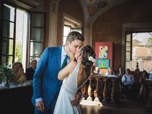 Il matrimonio di Julian e Sabrina a Lajatico, Pisa 10