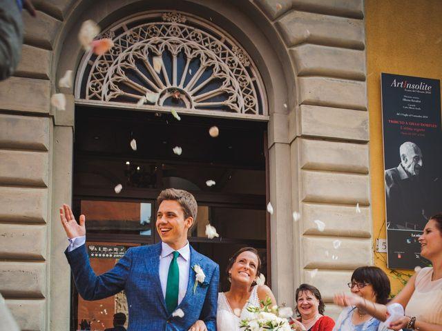 Il matrimonio di Julian e Sabrina a Lajatico, Pisa 13