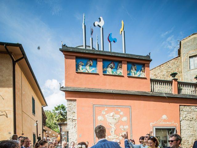 Il matrimonio di Julian e Sabrina a Lajatico, Pisa 14