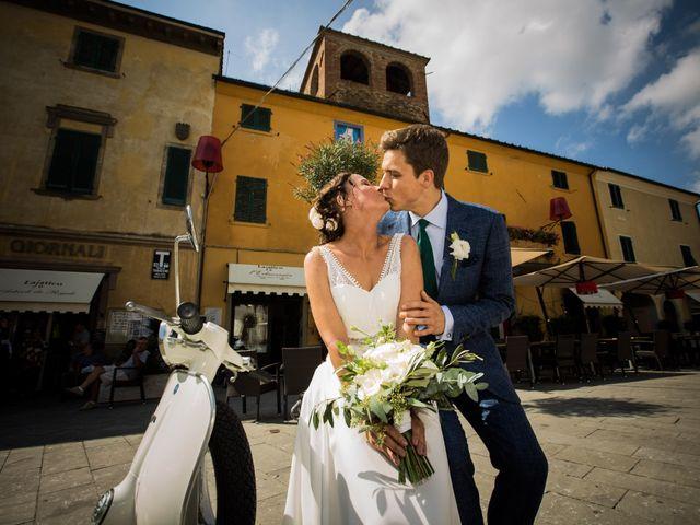 Il matrimonio di Julian e Sabrina a Lajatico, Pisa 17