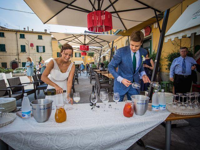Il matrimonio di Julian e Sabrina a Lajatico, Pisa 19