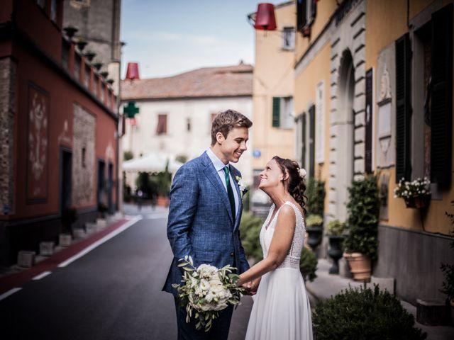 Il matrimonio di Julian e Sabrina a Lajatico, Pisa 22