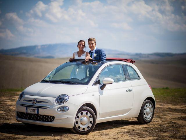 Il matrimonio di Julian e Sabrina a Lajatico, Pisa 28
