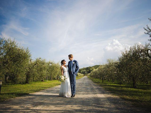 Il matrimonio di Julian e Sabrina a Lajatico, Pisa 35