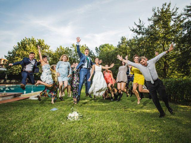 Il matrimonio di Julian e Sabrina a Lajatico, Pisa 48