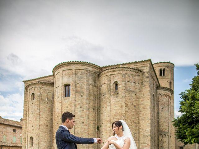 Il matrimonio di Mirko e Valentina a Corridonia, Macerata 22