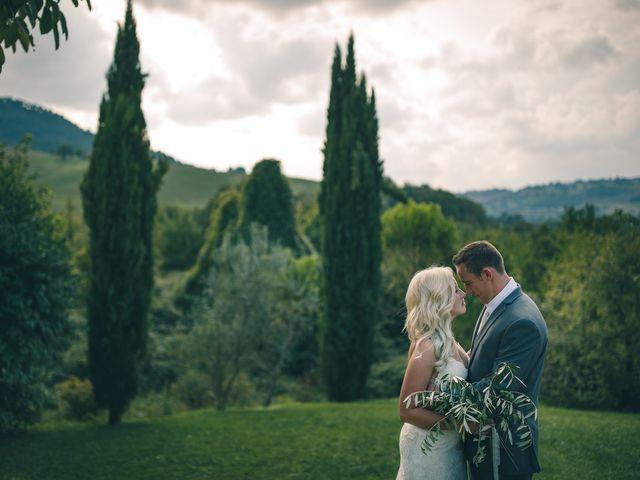 Il matrimonio di Ruston e Bonnie a Pergola, Pesaro - Urbino 40