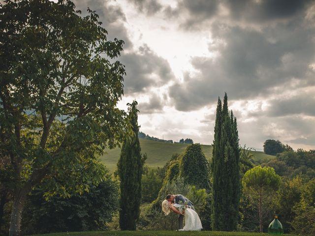 Il matrimonio di Ruston e Bonnie a Pergola, Pesaro - Urbino 45