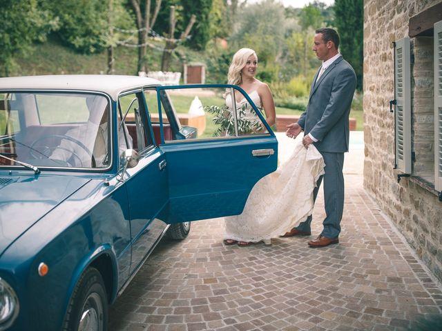 Il matrimonio di Ruston e Bonnie a Pergola, Pesaro - Urbino 46