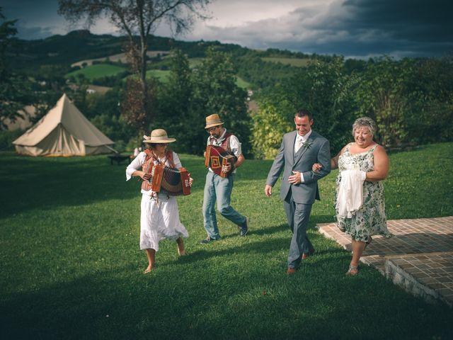 Il matrimonio di Ruston e Bonnie a Pergola, Pesaro - Urbino 69