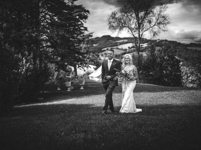 Il matrimonio di Ruston e Bonnie a Pergola, Pesaro - Urbino 70