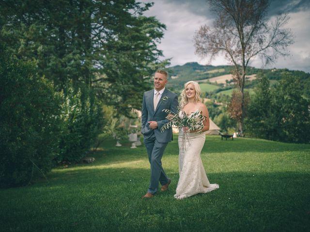 Il matrimonio di Ruston e Bonnie a Pergola, Pesaro - Urbino 71