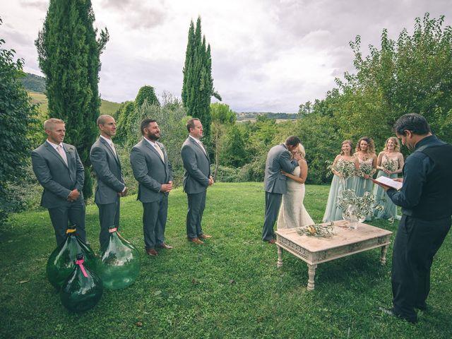 Il matrimonio di Ruston e Bonnie a Pergola, Pesaro - Urbino 73