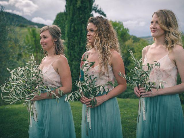 Il matrimonio di Ruston e Bonnie a Pergola, Pesaro - Urbino 78
