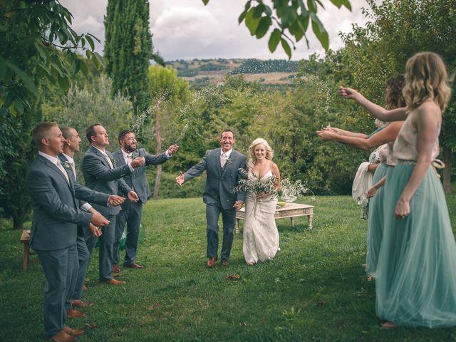 Il matrimonio di Ruston e Bonnie a Pergola, Pesaro - Urbino 86