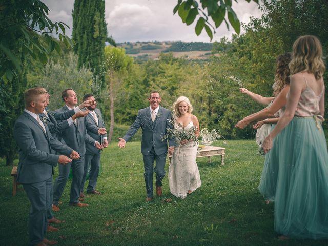 Il matrimonio di Ruston e Bonnie a Pergola, Pesaro - Urbino 87