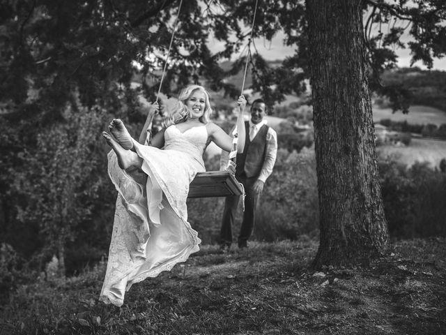 Il matrimonio di Ruston e Bonnie a Pergola, Pesaro - Urbino 104