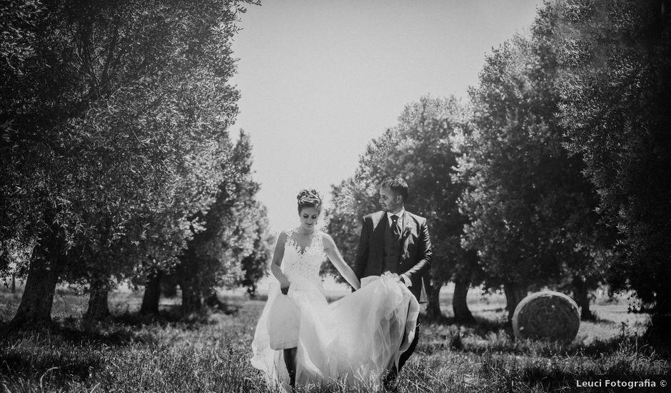 Il matrimonio di Cosimo e Luigina a San Pancrazio Salentino, Brindisi
